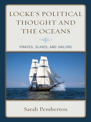 cover image of Locke's Political Thought and the Oceans