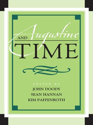 cover image of Augustine and Time