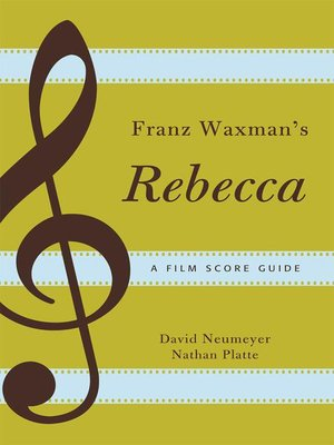 cover image of Franz Waxman's Rebecca