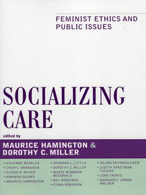 cover image of Socializing Care