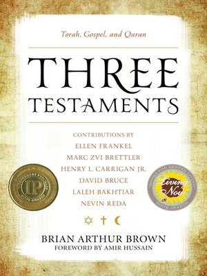 cover image of Three Testaments