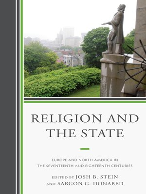 cover image of Religion and the State