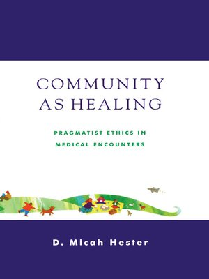 cover image of Community As Healing