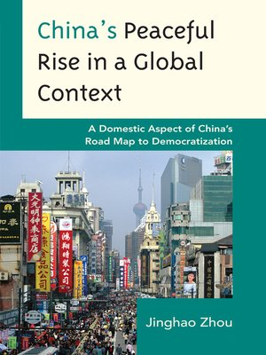 cover image of China's Peaceful Rise in a Global Context