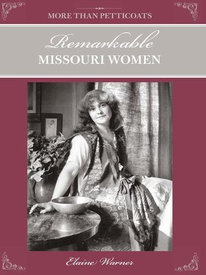 cover image of Remarkable Missouri Women
