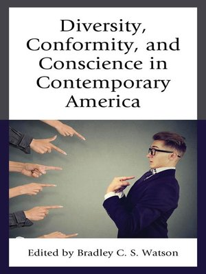 cover image of Diversity, Conformity, and Conscience in Contemporary America