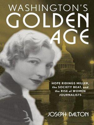 cover image of Washington's Golden Age