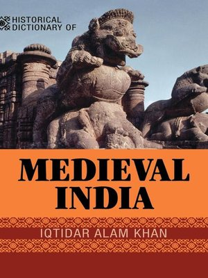 cover image of Historical Dictionary of Medieval India