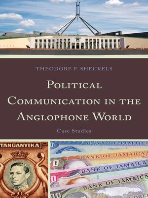 cover image of Political Communication in the Anglophone World