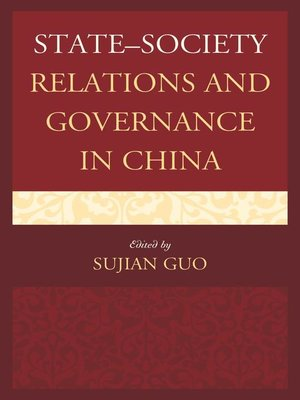 cover image of State–Society Relations and Governance in China
