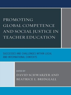 cover image of Promoting Global Competence and Social Justice in Teacher Education