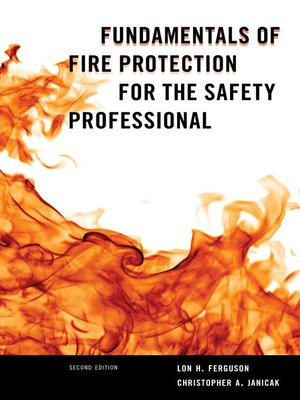 cover image of Fundamentals of Fire Protection for the Safety Professional