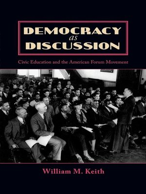 cover image of Democracy as Discussion