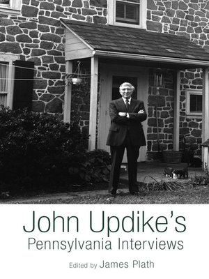 cover image of John Updike's Pennsylvania Interviews