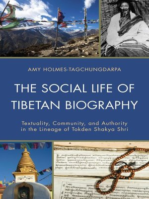 cover image of The Social Life of Tibetan Biography