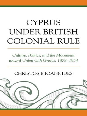 cover image of Cyprus under British Colonial Rule