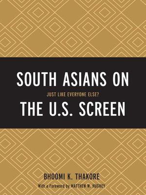 cover image of South Asians on the U.S. Screen
