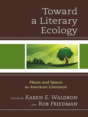 cover image of Toward a Literary Ecology
