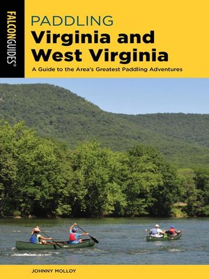 cover image of Paddling Virginia and West Virginia