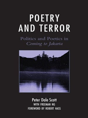 cover image of Poetry and Terror