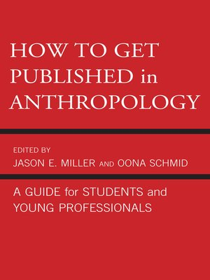 cover image of How to Get Published in Anthropology