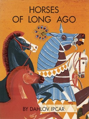 cover image of Horses of Long Ago
