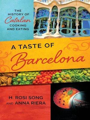 cover image of A Taste of Barcelona
