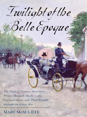 cover image of Twilight of the Belle Epoque