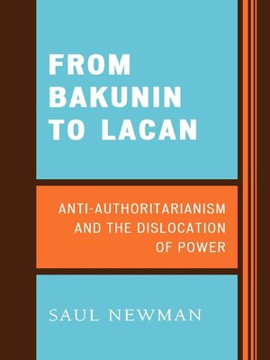 cover image of From Bakunin to Lacan