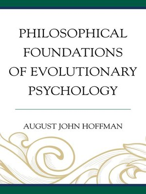 cover image of Philosophical Foundations of Evolutionary Psychology
