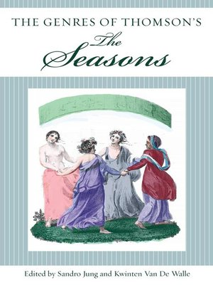 cover image of The Genres of Thomson's the Seasons
