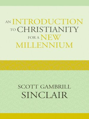 cover image of An Introduction to Christianity for a New Millennium