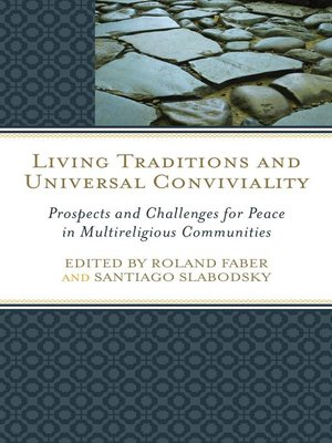cover image of Living Traditions and Universal Conviviality