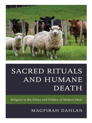 cover image of Sacred Rituals and Humane Death
