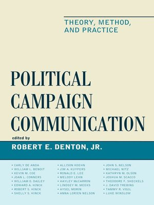 cover image of Political Campaign Communication
