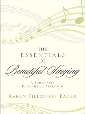 cover image of The Essentials of Beautiful Singing