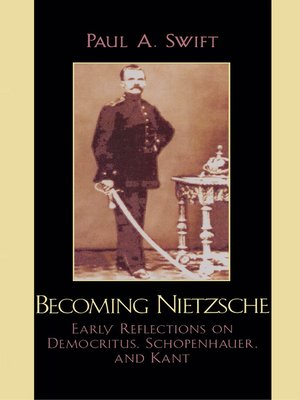 cover image of Becoming Nietzsche
