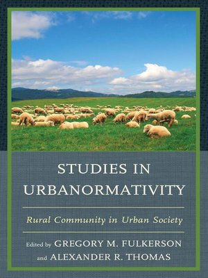 cover image of Studies in Urbanormativity