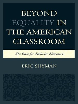 cover image of Beyond Equality in the American Classroom