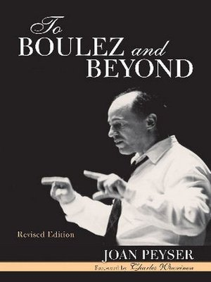 cover image of To Boulez and Beyond