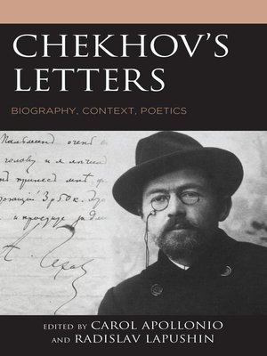 cover image of Chekhov's Letters