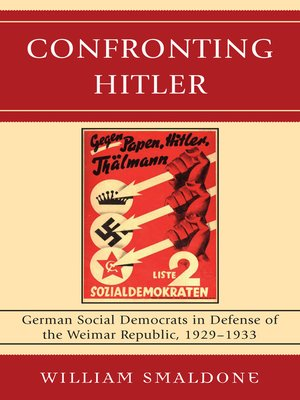 cover image of Confronting Hitler