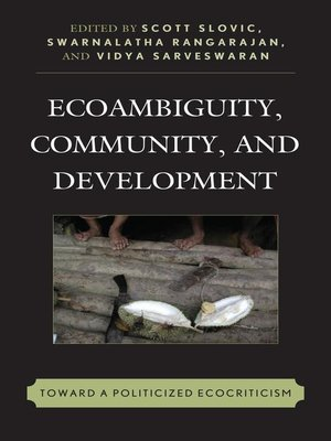 cover image of Ecoambiguity, Community, and Development