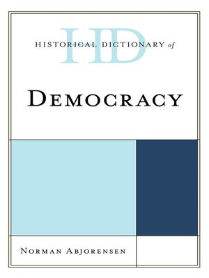 cover image of Historical Dictionary of Democracy