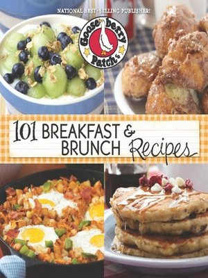 cover image of 101 Breakfast & Brunch Recipes