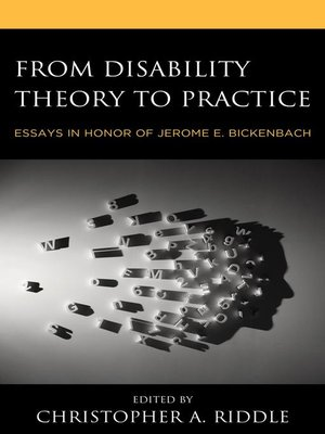 cover image of From Disability Theory to Practice