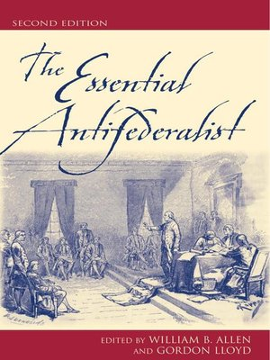 cover image of The Essential Antifederalist
