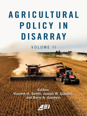 cover image of Agricultural Policy in Disarray