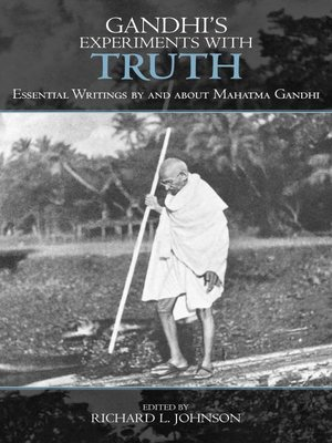 cover image of Gandhi's Experiments with Truth
