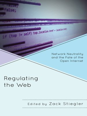 cover image of Regulating the Web